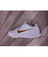 NIKE ALPHA HUARACHE ELITE 2 TURF WHITE SHOES SPRING TRAINING  CI2221-102  - $69.00