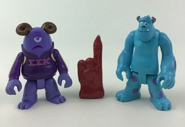 Imaginext Monsters University Sully EEK Toy Figures 3pc Lot Fisher Price A5 - $12.82