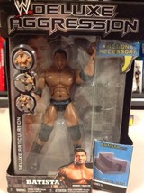Batista WWE Deluxe Aggression Wrestling Action ... - $29.69