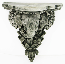 Ganesha Corbel Concrete Wall Plaque  - $54.00