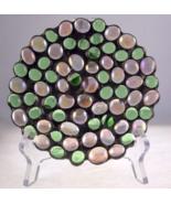Diane Markin USA handmade decorative round jewe... - $28.00