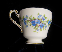 Paragon English Flowers Series Aubretia - Orphan Bone China Tea Cup -Blu... - €11,05 EUR