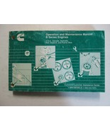 1998 Cummins B Series Engines Operation And Maintenance Manual CUMMINS U... - $19.75