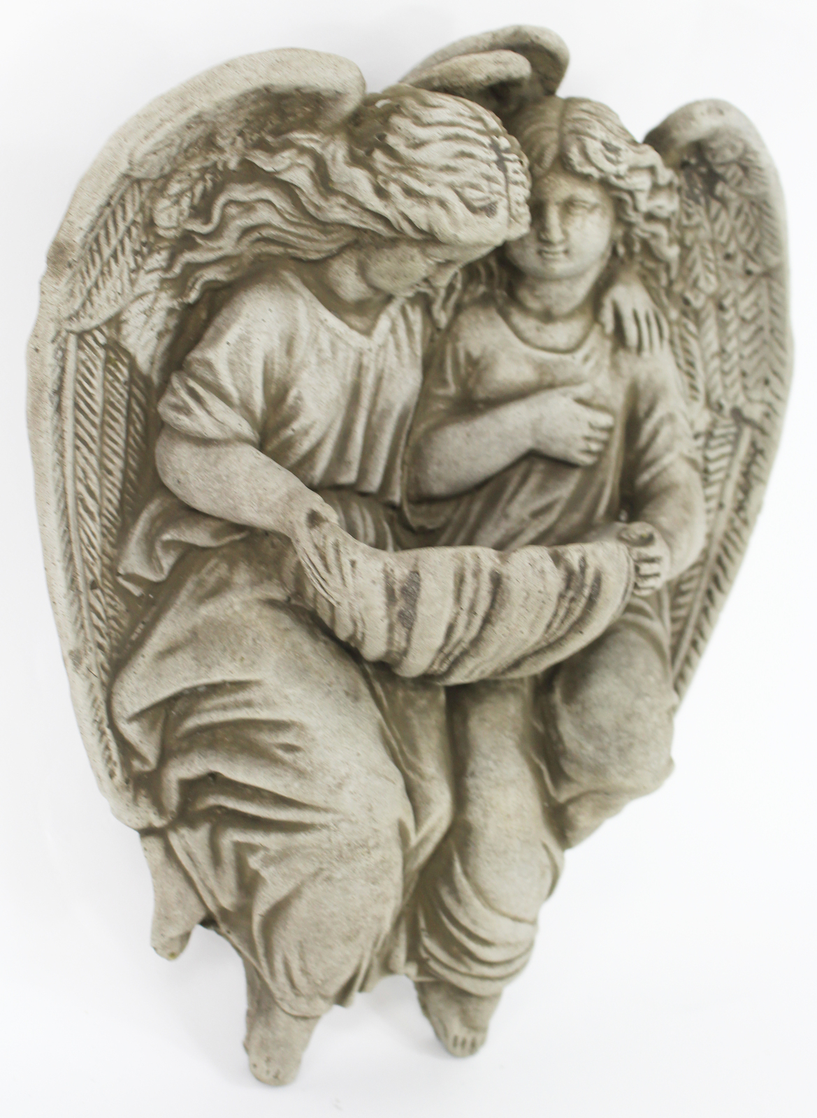 Holy Angels Ornamental Wall Plaque