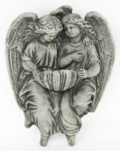 Holy Angels Ornamental Concrete Wall Plaque - $49.00