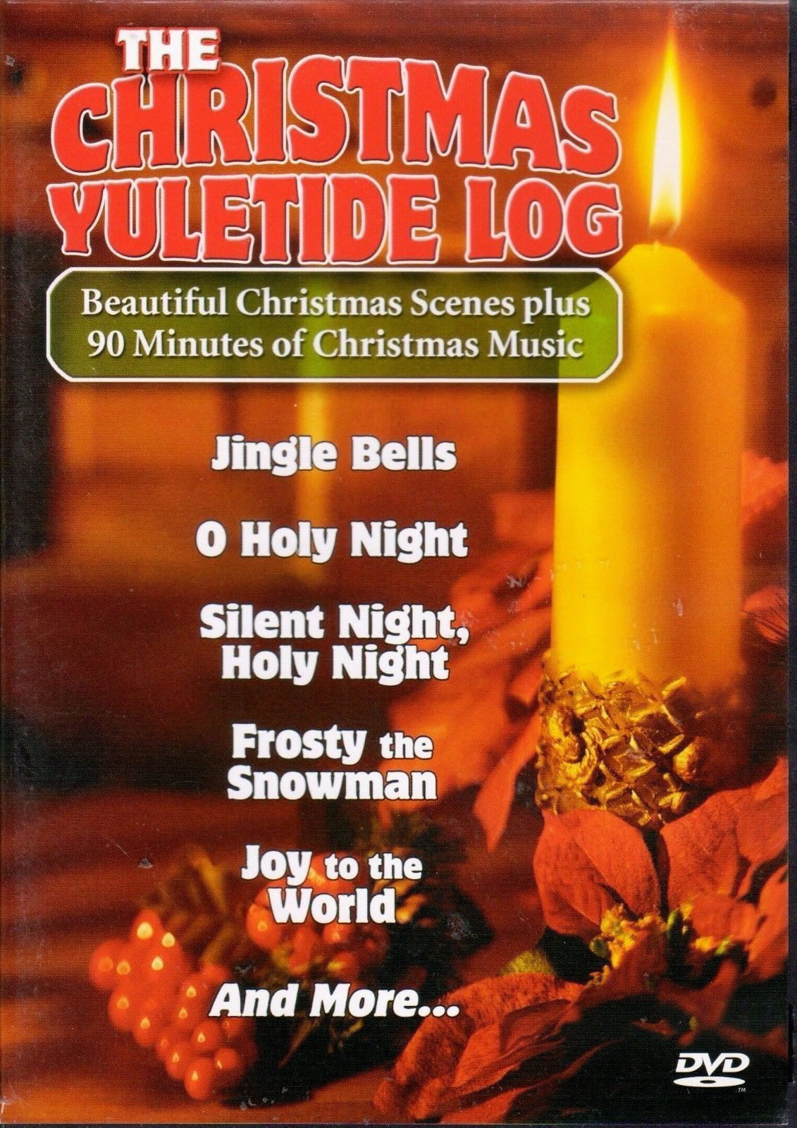 The Christmas Yuletide Log DVD