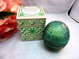 Vtg Emeraldesque Avon Here's My Heart Cream sac... - $12.99