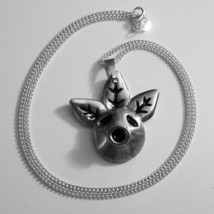 The Legend of Zelda, Majora's Mask Deku Mask Heavy Pewter Metal Necklace... - $52.00