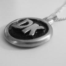 Donkey Kong 3D DK Token Heavy Pewter Metal Necklace Pendant - $50.00