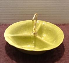 Vintage LANE & CO. California Pottery Divided Relish Bowl - $10.50