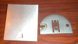 Singer 327 Throat Plate #179608 w/Screws & Slid... - $20.00