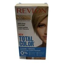 Revlon Total Color Hair Dye 100 Extra Light Natural Blonde 100% Gray Cover - $9.89