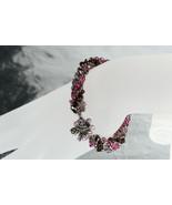 Russian spiral Swarovski crystal bracelet - $175.00