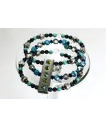 Swarovski crystal & pearl 3 strand memory wire bracelet - $114.00