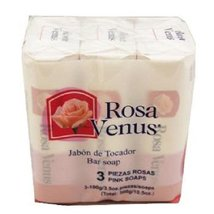 ROSA VENUS BAR SOAP - Pink 100 gr Each ( 3 in a... - $1.96