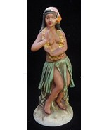 Hawaiian Distilleries Okolehao Hula Girl Liquor Bottle - $15.00
