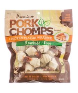 Premium Pork Chomps Knotz Chicken for Dogs Small - $18.41