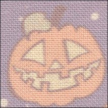 Pumpkins HandDyed Effect 28ct Linen 17x19 cross stitch fabric Fabric Flair - $22.50