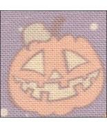Pumpkins HandDyed Effect 28ct Linen 17x19 cross stitch fabric Fabric Flair - $22.50