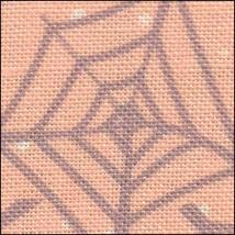 Webs & Dots HandDyed Effect 28ct Linen 17x19 cross stitch fabric Fabric Flair - $22.50