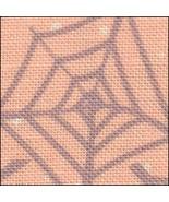 Webs & Dots HandDyed Effect 28ct Linen 17x19 cross stitch fabric Fabric ... - $22.50