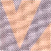 Halloween Zig Zag HandDyed Effect 28ct Linen 35x19 cross stitch Fabric Flair - $45.00
