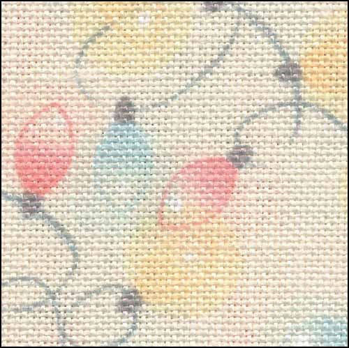 Primary image for Christmas Lights HandDyed Effect 28ct Linen 35x19 cross stitch Fabric Flair