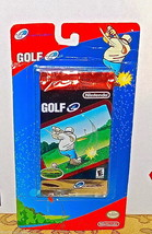 GOLF E-Reader Pack of Cards SEALED NEW Nintendo Game Boy Advance GBA NES - $8.56