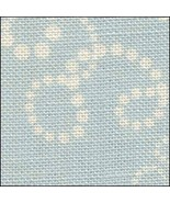 Christmas Swirls HandDyed Effect 28ct Linen 35x19 cross stitch Fabric Flair - $45.00