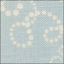 Christmas Swirls HandDyed Effect 28ct Linen 17x19 cross stitch Fabric Flair - $22.50