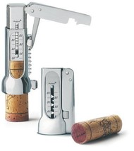 Brucart Compact Chrome-Plated Corkscrew Deluxe Pack with Pouch - £71.76 GBP