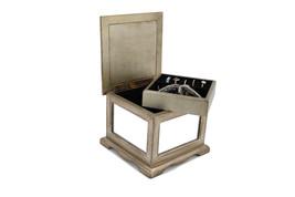 Executive class wood Cufflink Case & watch Storage Organizer  Jewelry Bo... - €63,81 EUR