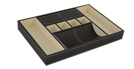 New Top Quality Executive Leatherette Valet Tray Organizer for men,s gift - €33,49 EUR