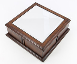 Glamour Mirrored classic modern Jewelry Box gift - €67,00 EUR