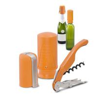 New Pulltex Pulltap,s Wine & Champ. Starter Set (3 pcs.) Gift set Orange - £39.86 GBP