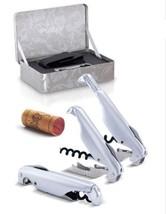 New Pulltex Pulltaps  Corkscrew  Corkscrew X-tens Set Sliver Gift - £57.58 GBP