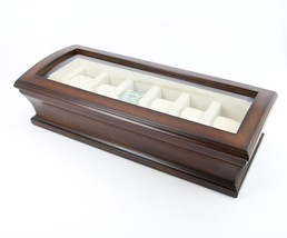 Top Quality Executive Wooden Matte Finish Wood Watch & Cufflink Jewelry ... - €67,80 EUR