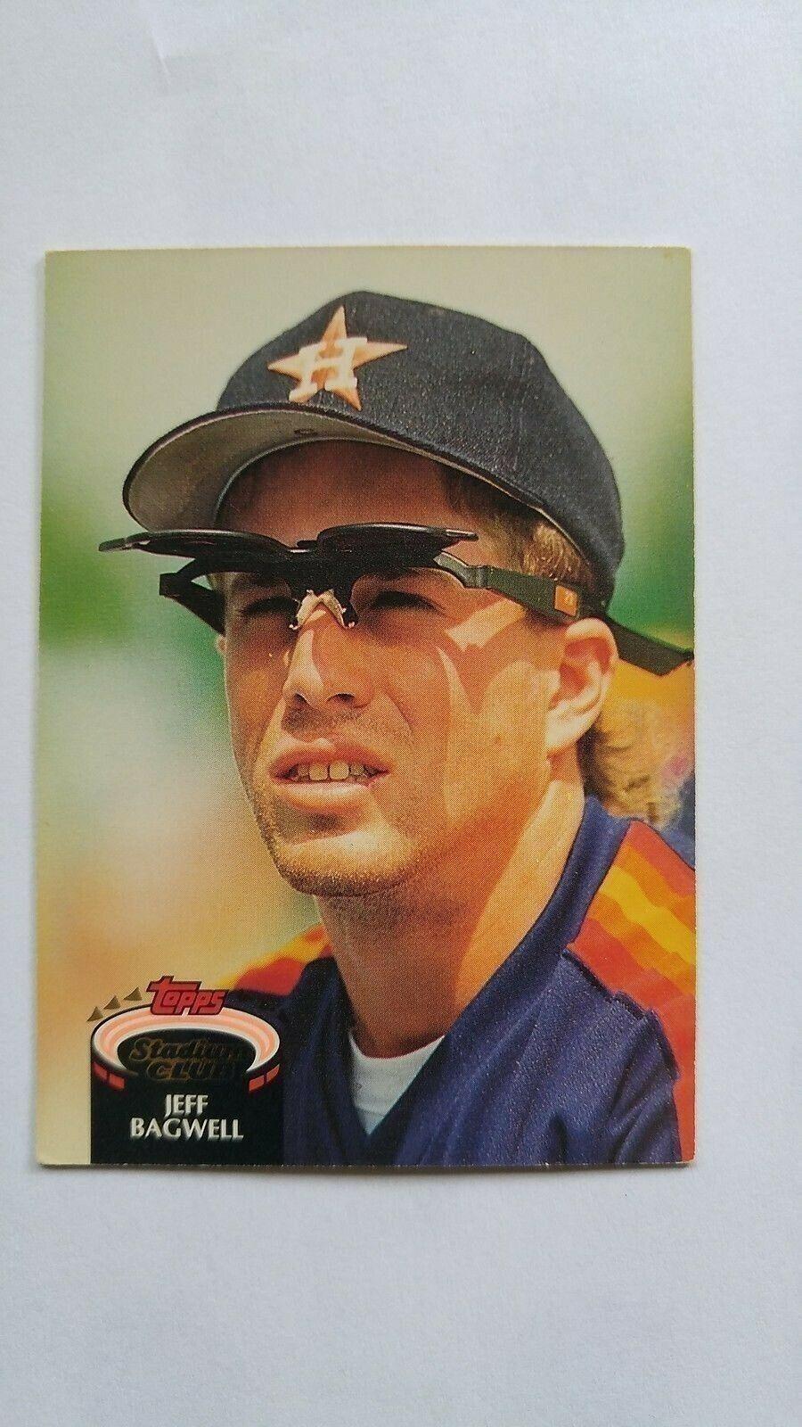Jeff Bagwell 1992 Topps Stadium Club Card #330 Houston Astros Free Shipping