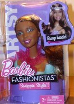 Barbie Fashionistas Swappin' Styles! Artsy Swap Head - $34.64
