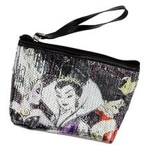 Disney Store Villains Cosmetic Bag Tote Evil Queen Ursula & Queen of Hearts - $44.54