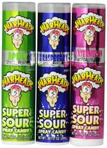 Impact Warheads Super Sour Spray Candy, 0.68 oz, 24 ct - $45.37