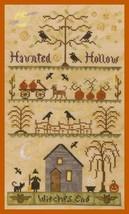 Haunted Hollow halloween cross stitch chart Elizabeth's Designs  - $9.00