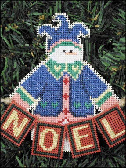 Primary image for Noel Snow Folks Ornament kit christmas perforated paper cross stitch kit