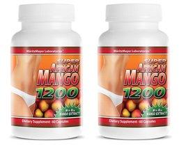 Super African Mango 1200 Dietary Supplement 60 Capsules 2-Pack - $11.67