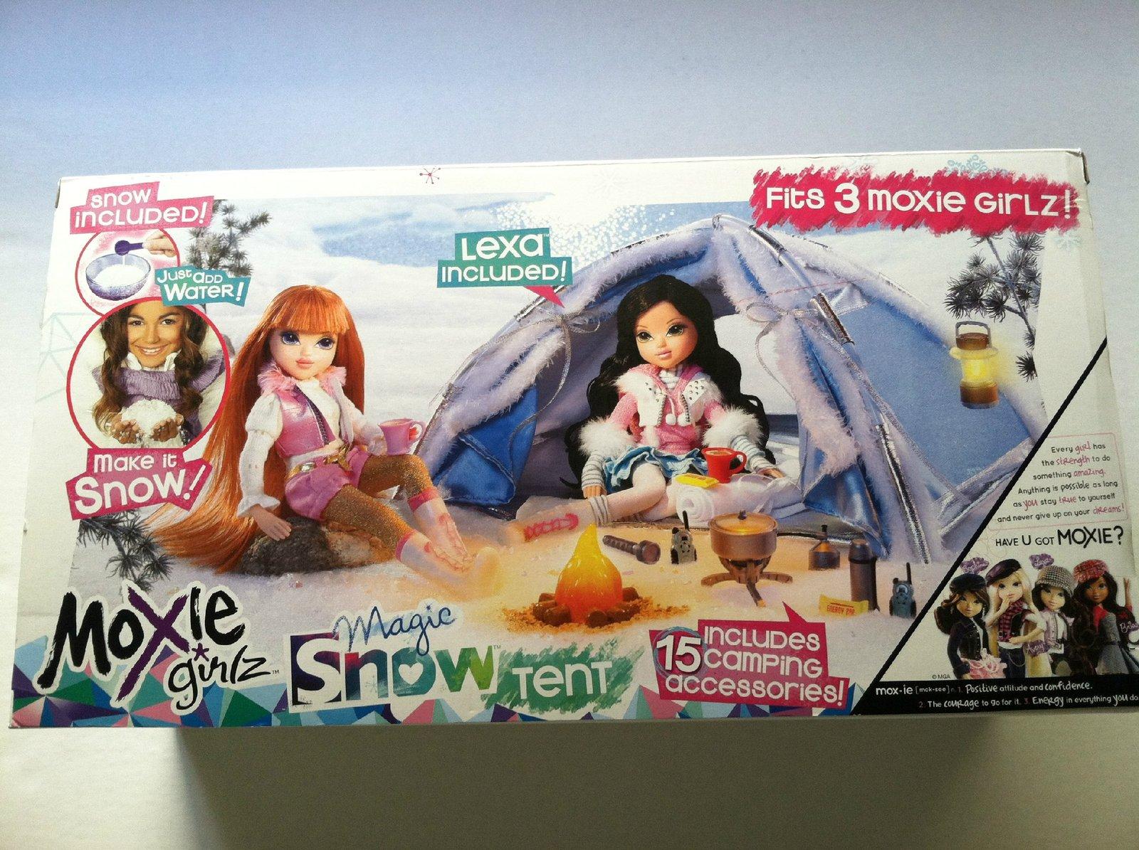 Moxie Magic Snow Tent with Lexa Doll