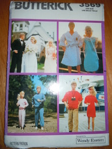 Vintage Butterick Fashion Doll Clothes Barbie Size Pattern #3569 - $7.99