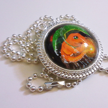 Pokemon Charmander Go Video Game 1 inch Glass Stone Necklace Pendant Pok... - $15.00