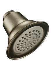 "MOEN 6303-ORB Oil Rubbed Bronze One-Function 3-1/2"" Diameter Spray Head ... - $38.58"