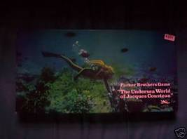 The Undersea World Of Jacques Cousteau Board Game 1968 - $45.99