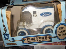ERTL 1905 FORD DELIVERY CAR BANK/1:25 SCALE-FREE SHIPPING - $20.00
